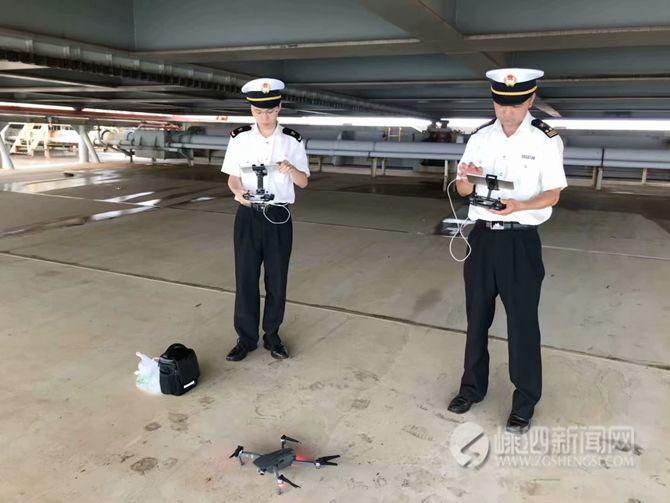 无人机助力嵊泗海关 实现通关再提速