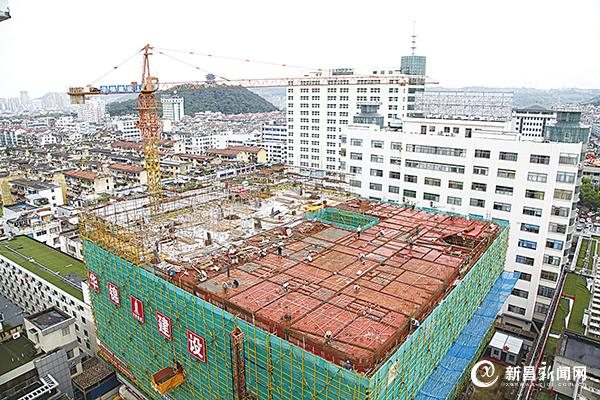 县人民医院提升工程项目推进顺利