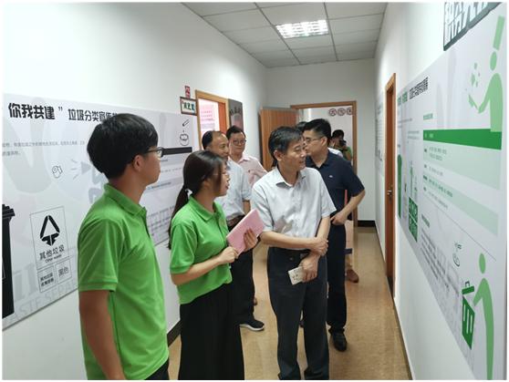寧波文明辦組織慰問農村文明示范線建設大學生志愿者