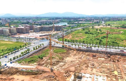城中村改造安置项目火热施工