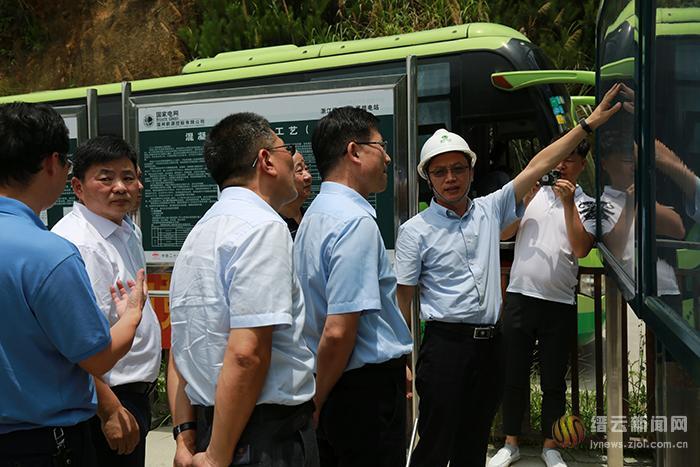 市政协对缙云抽蓄电站项目建设进行专题调研