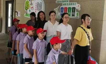 """富阳首设垃圾分类社会实践基地 孩子争当""""环保小卫士"""""""