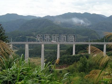 衢宁铁路龙泉段项目加速推进