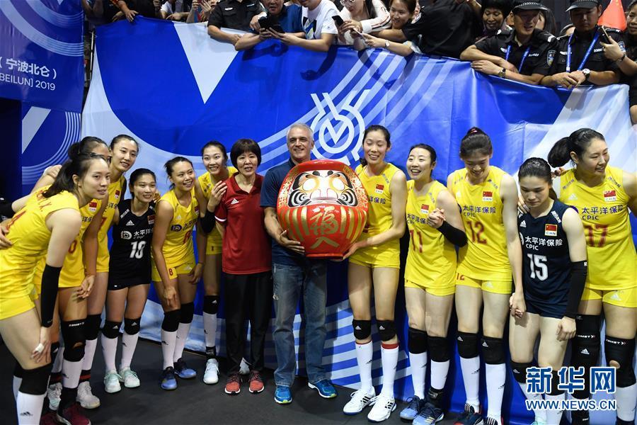 排球:中国女排挺进东京奥运会