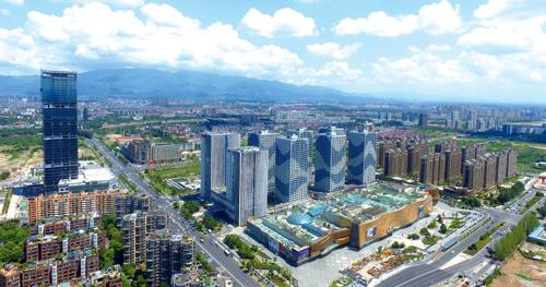 金东新城区城市经济综合体崛起