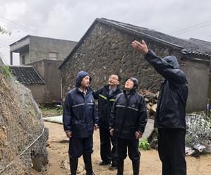 市县领导巡查地质灾害点、水库