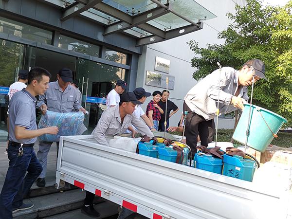 县疾控中心到镜岭镇开展卫生防疫工作