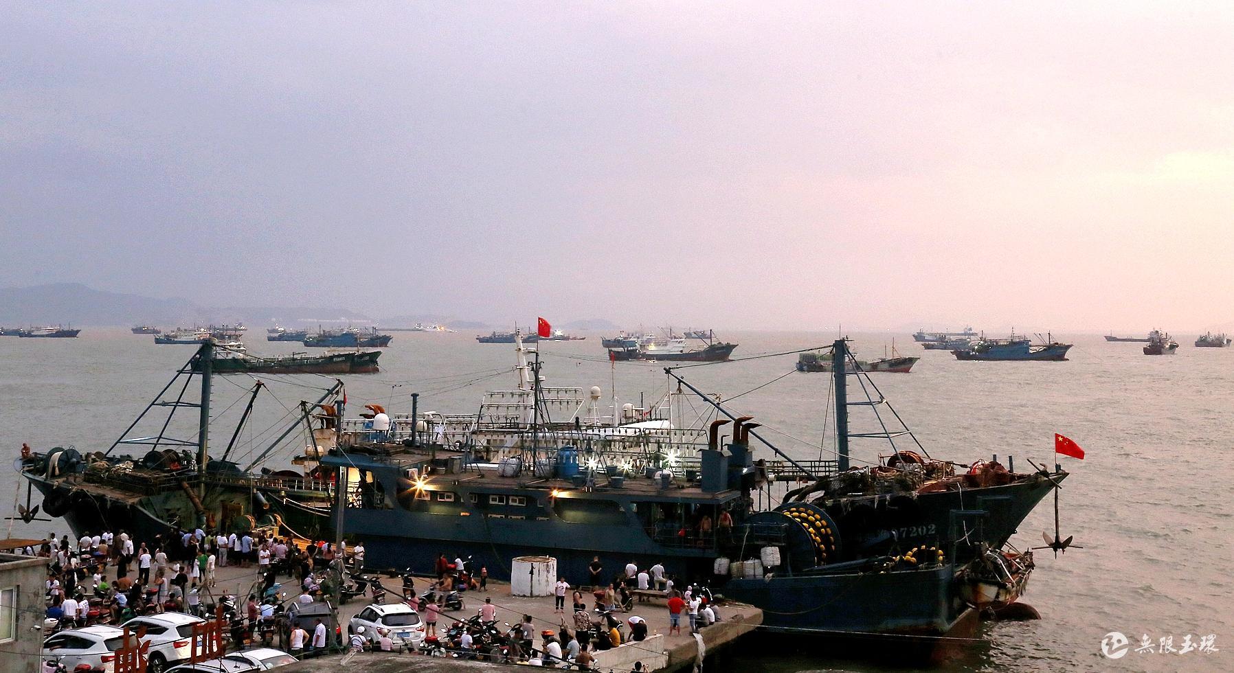 大麥嶼:避風漁船又將揚帆起航