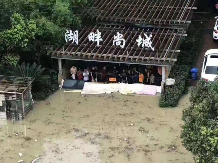 临海古城全城被淹 为何这个小区安然无恙?