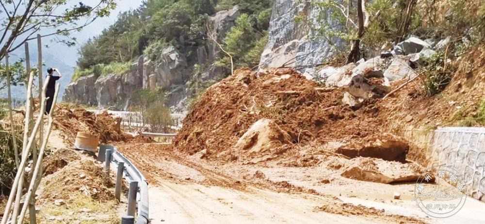 因台风封闭路段已全部恢复通行