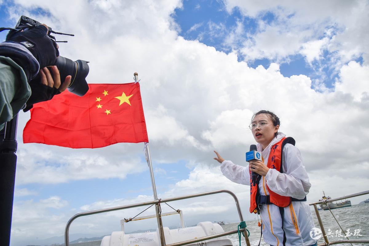 一位90后女记者的采访手记丨我是这样在台风中行走……