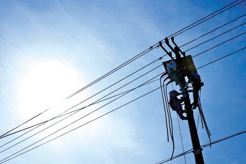 高温作业保供电