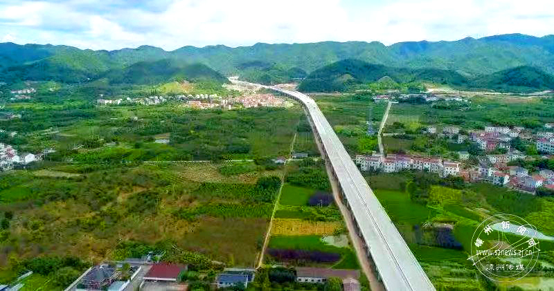 快看!雄姿初显的杭绍台高速公路嵊州段
