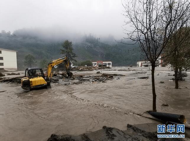 强降雨已造成四川阿坝州1.27万人受灾
