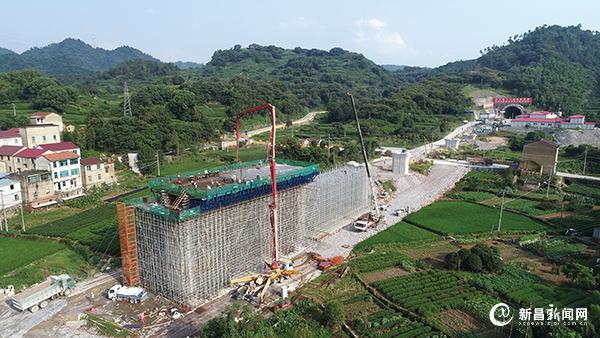 杭绍台铁路新昌段加快建设