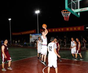 鱼山篮球赛火热开打