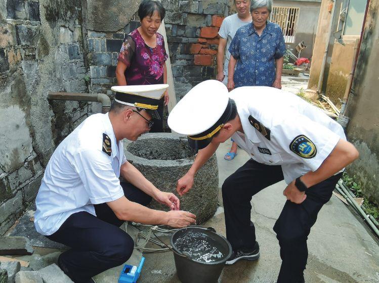 市卫生监督所进一步加强生活饮用水监测