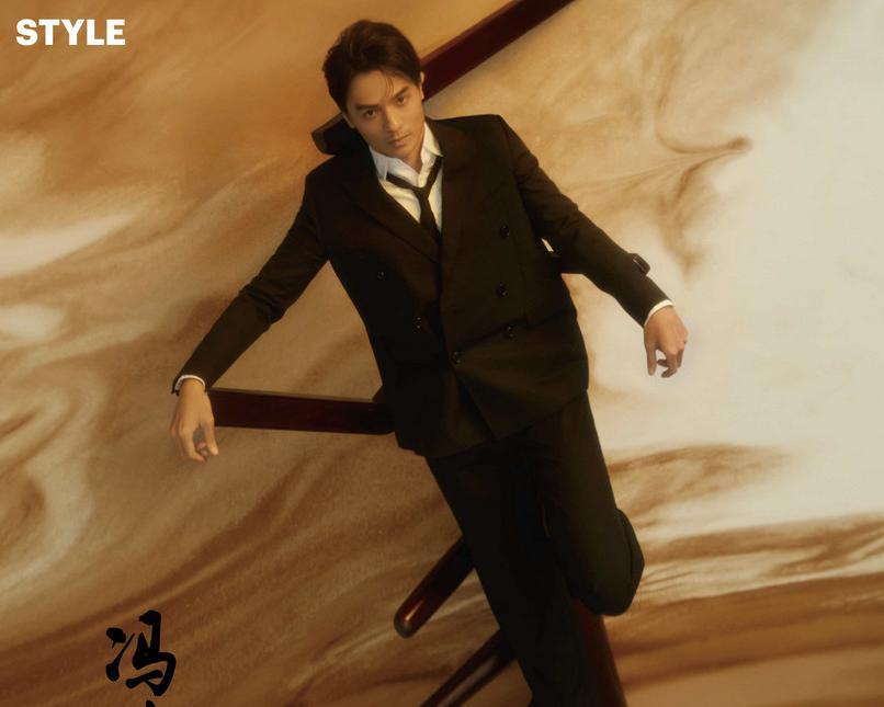 冯德伦时尚质感大片 光影间诠释新绅士风范
