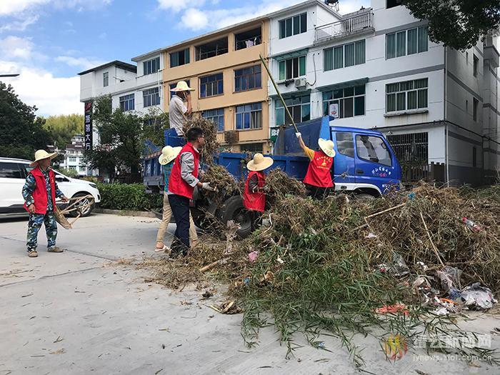 仙都580余名党员助力景区重建迎检
