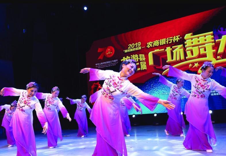 县第二届广场舞大赛启动