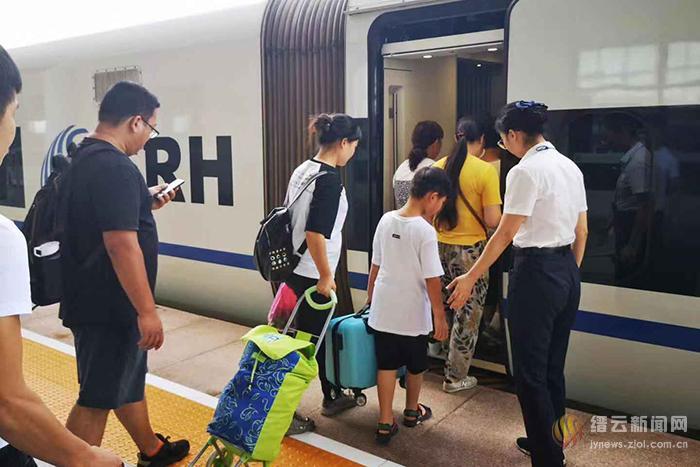 高铁缙云西站迎来暑运返程高峰