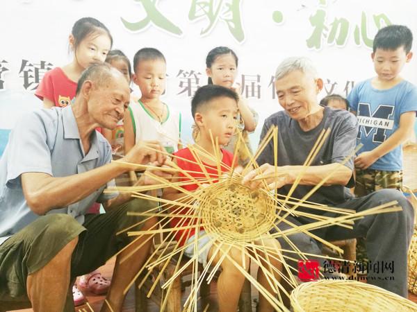竹编艺术有了传承