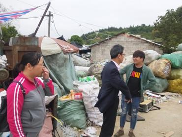 县经商局开展废品回收站专项整治行动