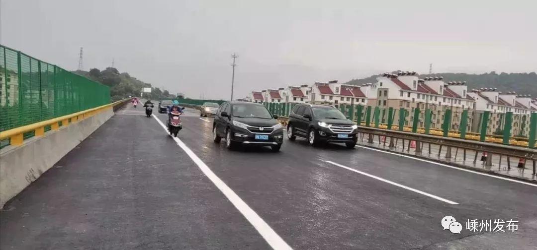 104国道东郭分离桥恢复通车