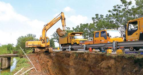 西水东输二期工程稳步进行中