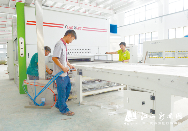 王牌家居产业园一期项目下月投产