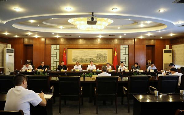 十四届市委第六十八次常委会会议召开
