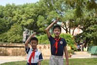 拾金不昧好少年,江山实验小学这两个孩子值得点赞!