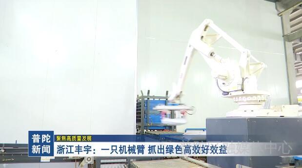 浙江丰宇:一只机械臂 抓出绿色高效好效益