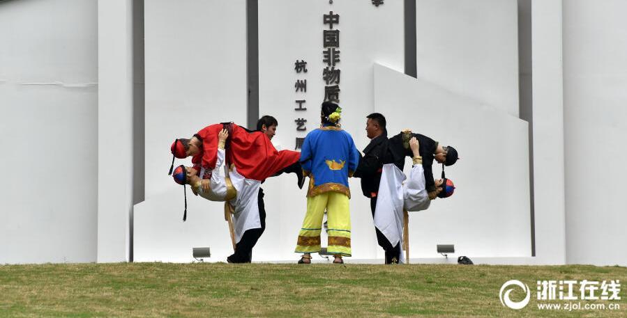 杭州:非遺博覽會 激活大運河