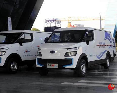 服务物流运输市场 开瑞海豚EV正式上市