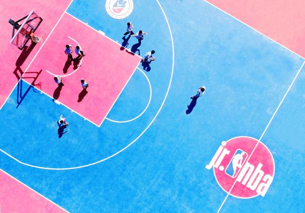Jr.NBA篮球场-遂昌新闻网