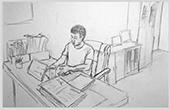 """浙大學生手繪""""蘋果書記""""十二時辰記錄下基層工作的不易"""