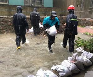 长涂镇加强排水工作