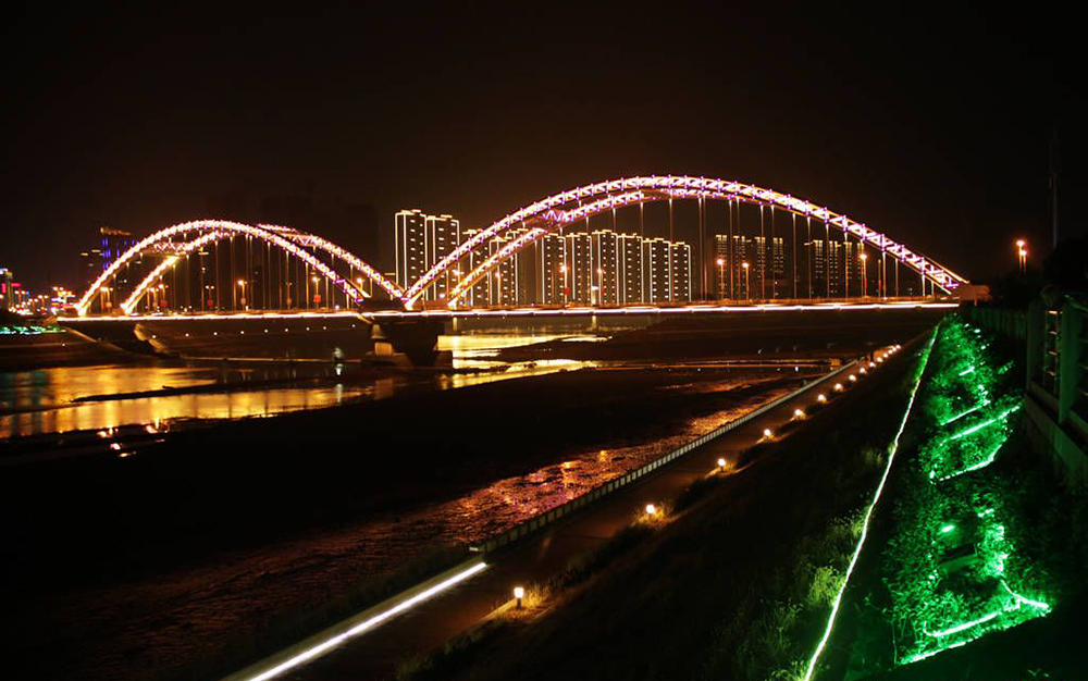 【行行摄摄】国庆剡溪边灯光秀