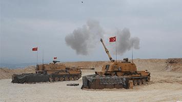 土耳其对叙利亚北部地区展开地面军事行动