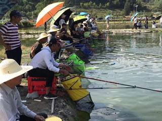 第四届全民运动会垂钓比赛举行