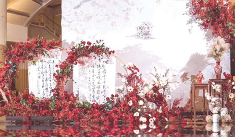 """用""""新中式""""婚礼做强婚庆文化产业"""