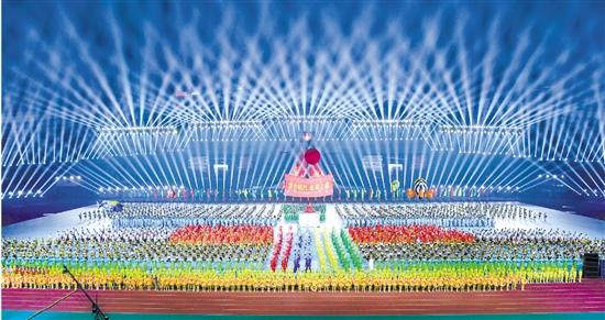 绍兴市第九届运动会在上虞开幕