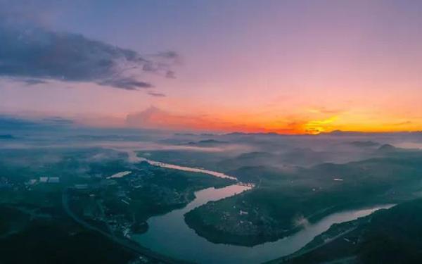一大波美景上线!空中看澳门bbin娱乐的大美山川,原来如此壮丽