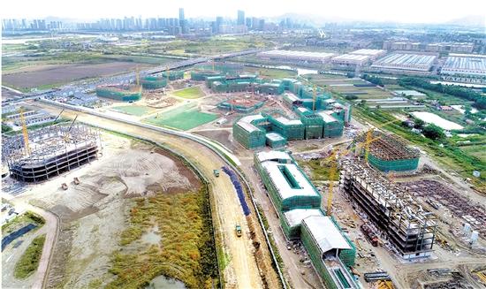 浙江建设职业技术学院完成总工程量40%