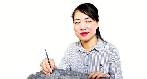 紹興市非遺傳承人俞秋紅:秦磚漢瓦遺韻長