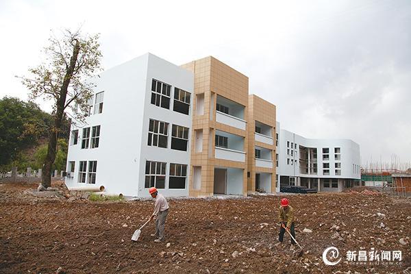 城南乡中心幼儿园新建工程建设进展顺利