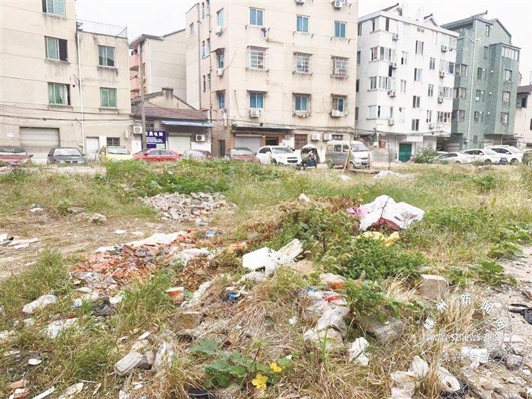 今日直击――下元塘社区这处空地变成了垃圾场
