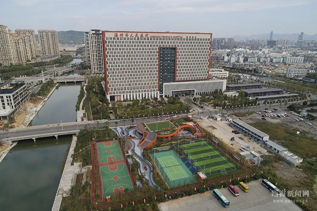温州首座体育公园建成开放