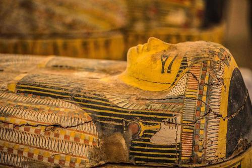 埃及出土30具3000年前的木质棺椁